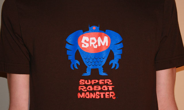 Super Robot Monster Guy's Tee, Brown
